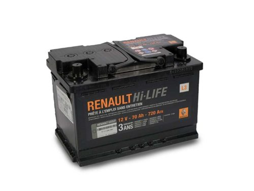 Batteria Boutique L3 70aH 720A originale Renault 7711238598