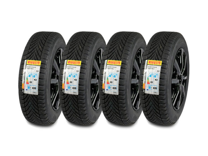 "KIT WINTER Pirelli 15"" 185/65 R15 88T 7711765753"